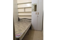 Partition room for indian couple near rigga metro station.