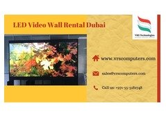 LED Wall Rentals for Indoor Events in Dubai UAE