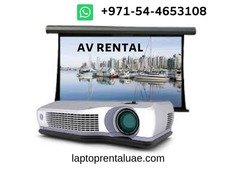 AV Rentals for Entertainment Events - Dubai, UAE