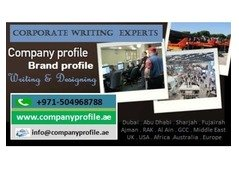 Graphically-Designed Company Profile Making in Fujairah UAE