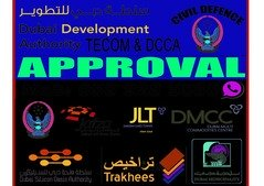 DUBAI MUNICIPALITY,& CIVIL DEFENCE DRAWING APPROVAL +971505053974