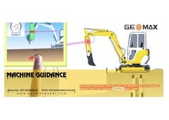 GeoMax Machine Guidance Services in Dubai, UAE.