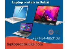 Students to Business personalities we provide laptop rentals in Dubai