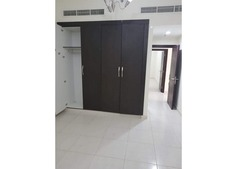 Master room with attached bathroom and cabinet gas is free