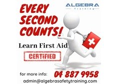 OPEN FIRST AID COURSE AVAILABLE