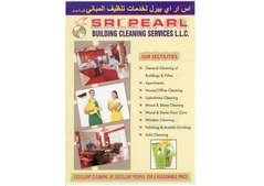 Apartments, villas and building cleaning