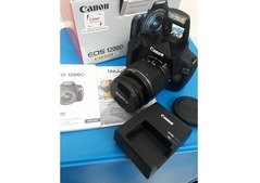 1200d canon with lens new condition