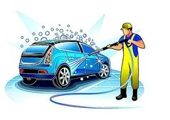 Special discounts on Carwash, Oil change, car polish