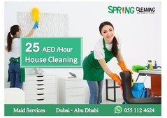 Spring Cleaning™ | 25 AED per Hour | Book Your House Maid