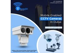 ThoughtME Mobile Enabled CCTV Camera Series in Dubai, Abu Dhabi, UAE.