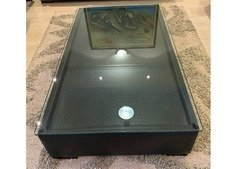 Leather Center Table