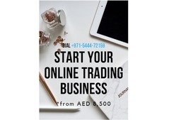 E-Commerce Trade License in UAE from AED 8,500 with 0 Visa package!