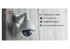 CCTV Maintenance in Dubai