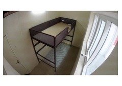 Partition/Partition (Solo) and upper/lower bed space Available