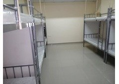 Upper and lower bed space Available in a New Flat