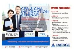 Information Seminar CMA/CPA | September 07, 2019  |Attend Free Seminar