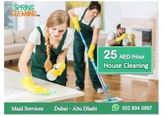 House Cleaning - 25 AED per Hour - From Spring Cleaning