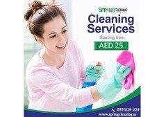 Maid Services - House Cleaning Dubai - 25 AED /Hour