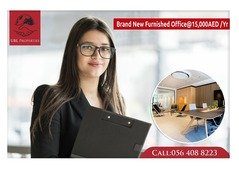 Fully furnished office for rent in Dubai