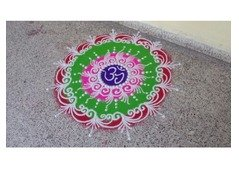 Experienced Rangoli Artist Available For Diwali Events
