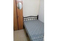 closed partition room near metro for couple
