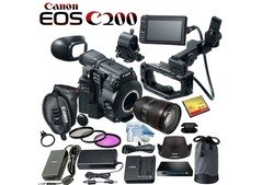 Canon EOS C200 EF Cinema Camera,Canon EOS 5D Mark IV DSLR Camera
