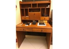 Home desk with plenty of storage space for sale