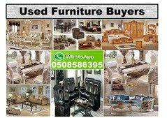 We buy all type of used furniture in UAE