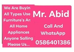 We are buying all types furniture's more info 0586401386