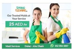 Maid Services - Home Cleaning UAE - 25 AED per Hour
