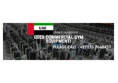 GYM EQUIPMENTS FOR SALE ALL OVER UAE.