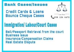 Any legal matters you may inquire.call or whats app 0581266472